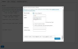 Read more about the article Contact Form 7 – Come inviare mail a destinatari diversi